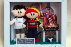 boneka real madrid barcelona untuk ulang tahun