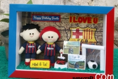 kado ulang tahun cowok boneka jersey barcelona