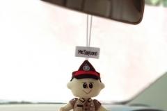 gantunga boneka polisi
