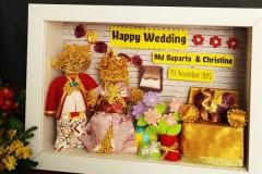 kado pernikahan unik dengan konsep adat bali